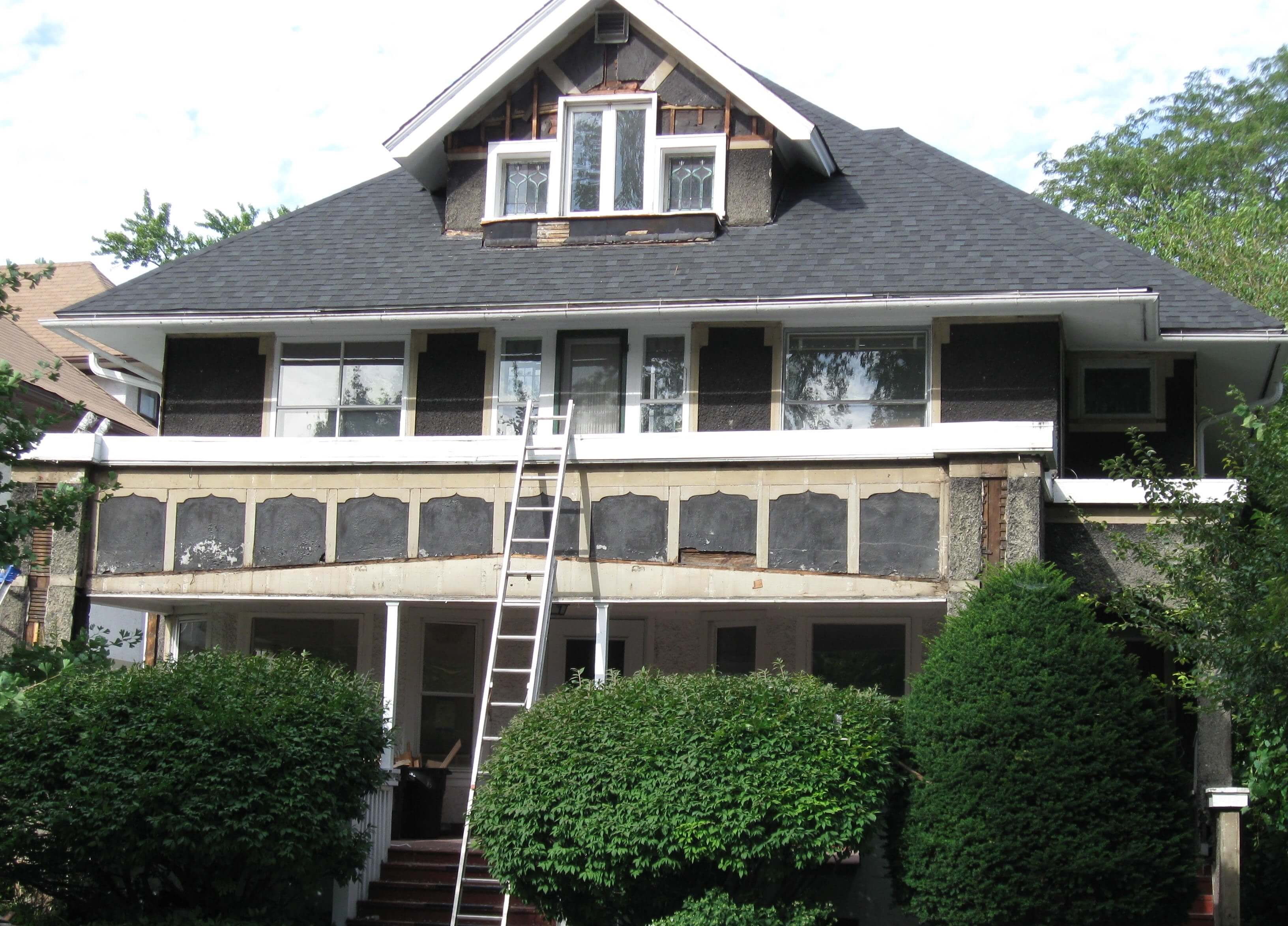 Fortune Restoration's painting services