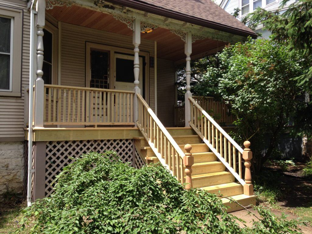 Porch & Deck Restoration Wilmette