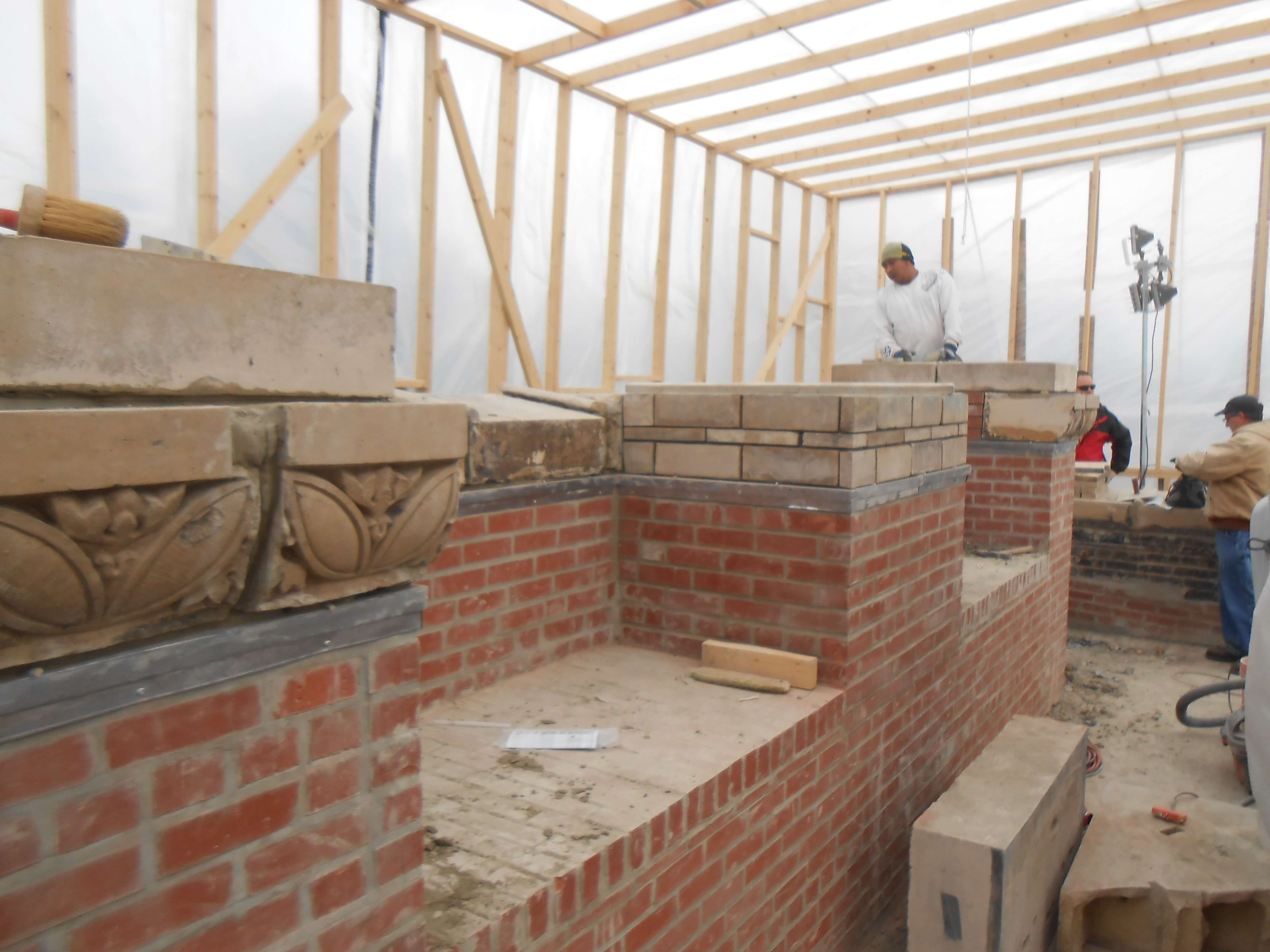 Hinsdale Brick Replacement