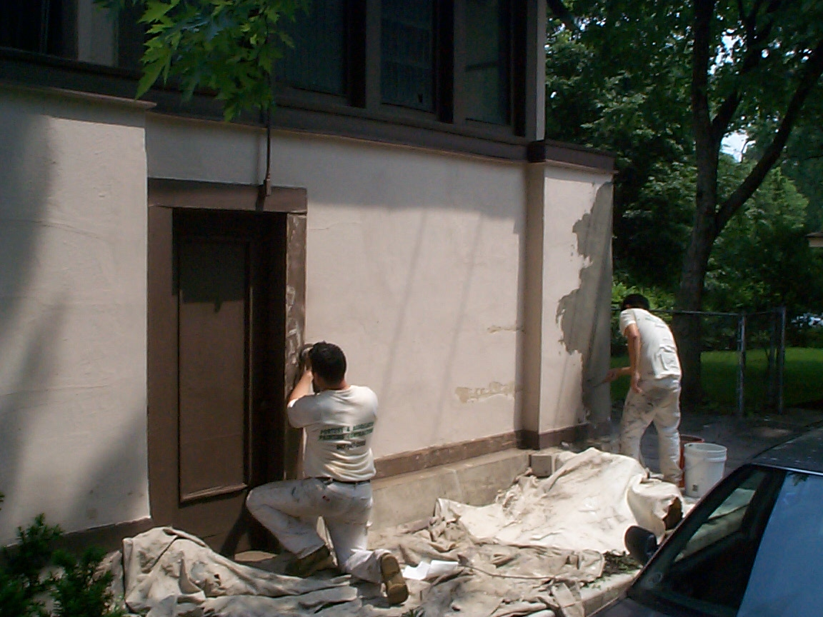 Kenwilworth Stucco Patching
