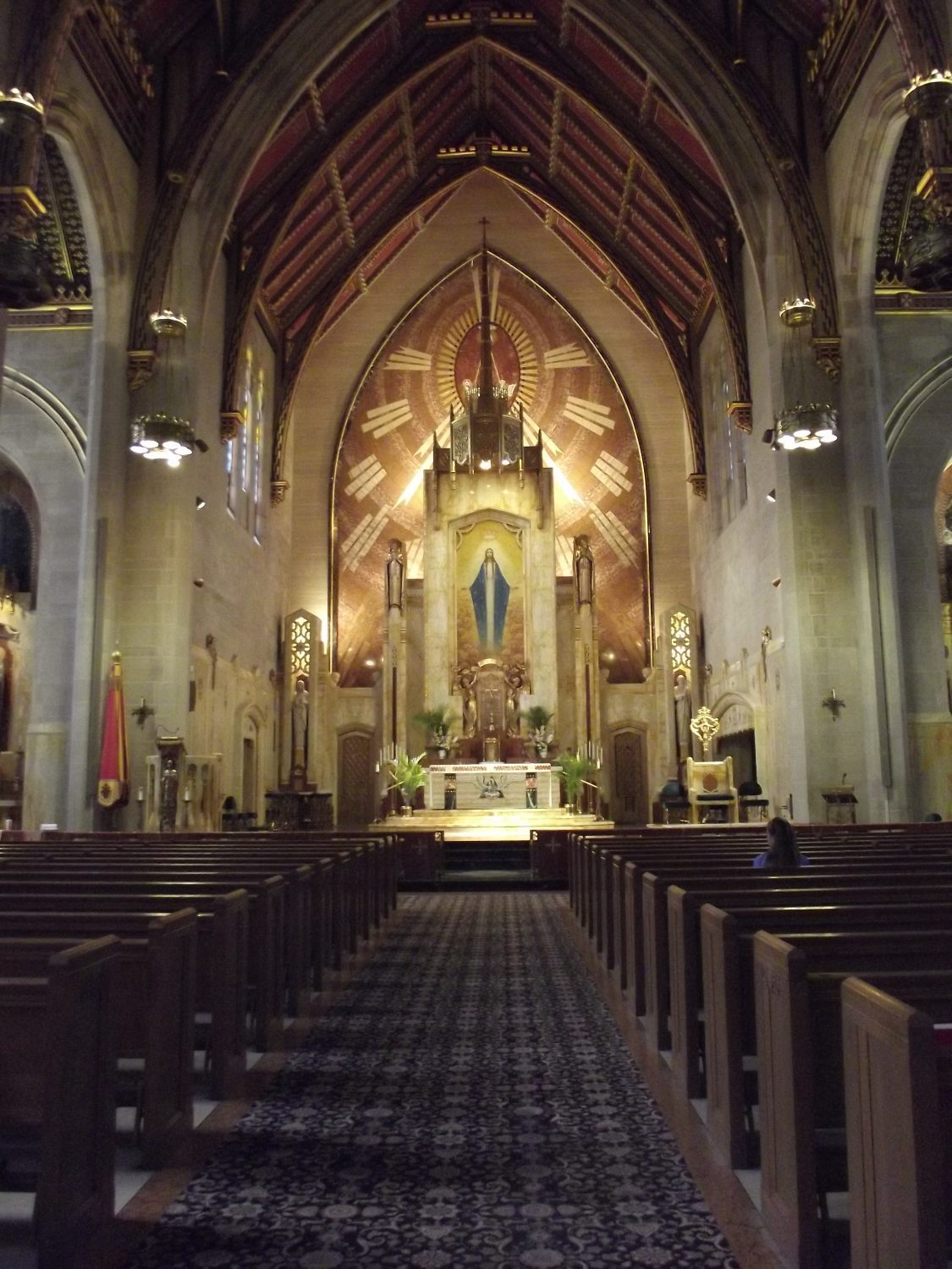 Painting Services - Queen of All Saints Basilica, North Chicago