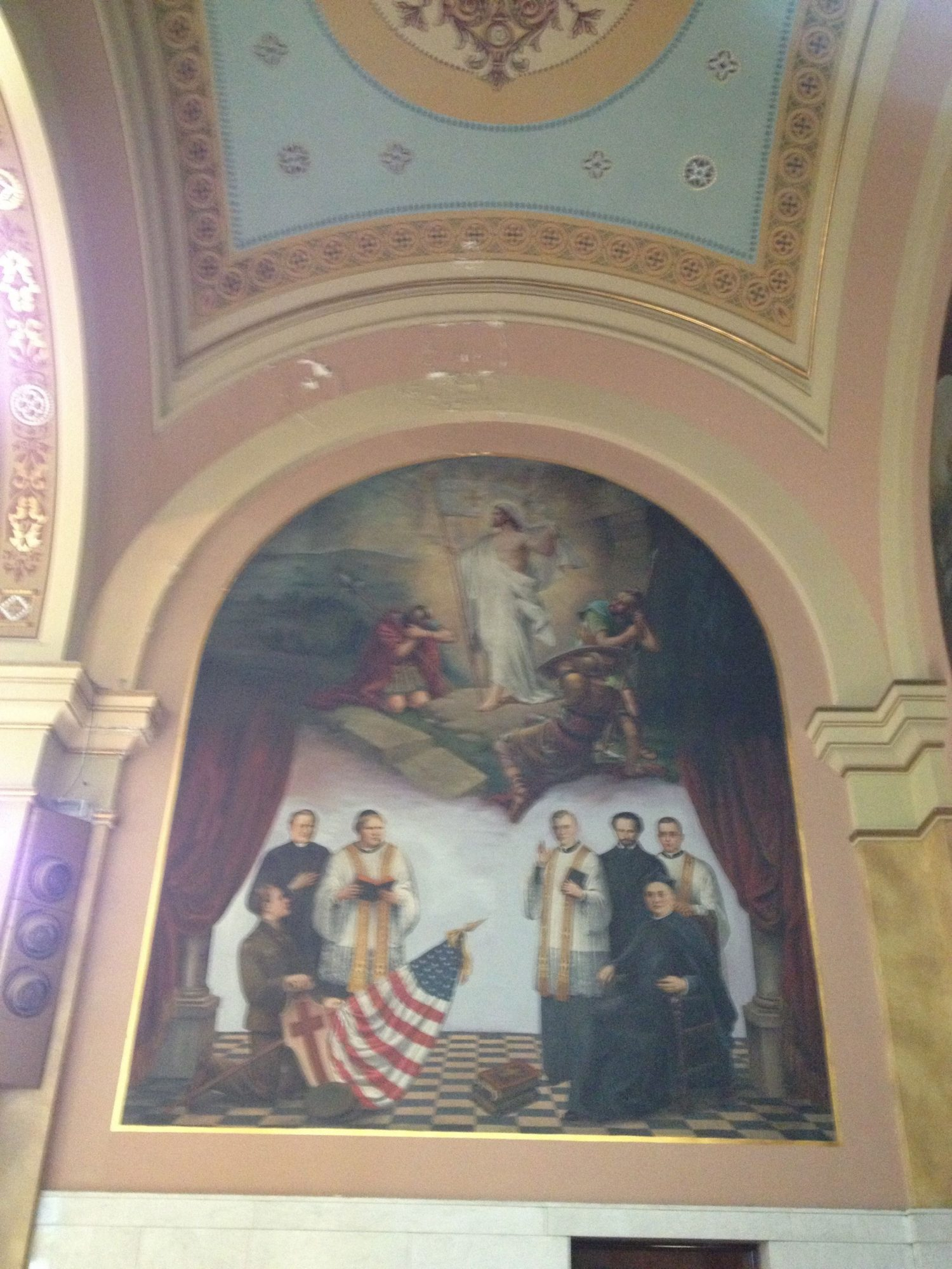 St. Mary of the Angels Painters Chicago