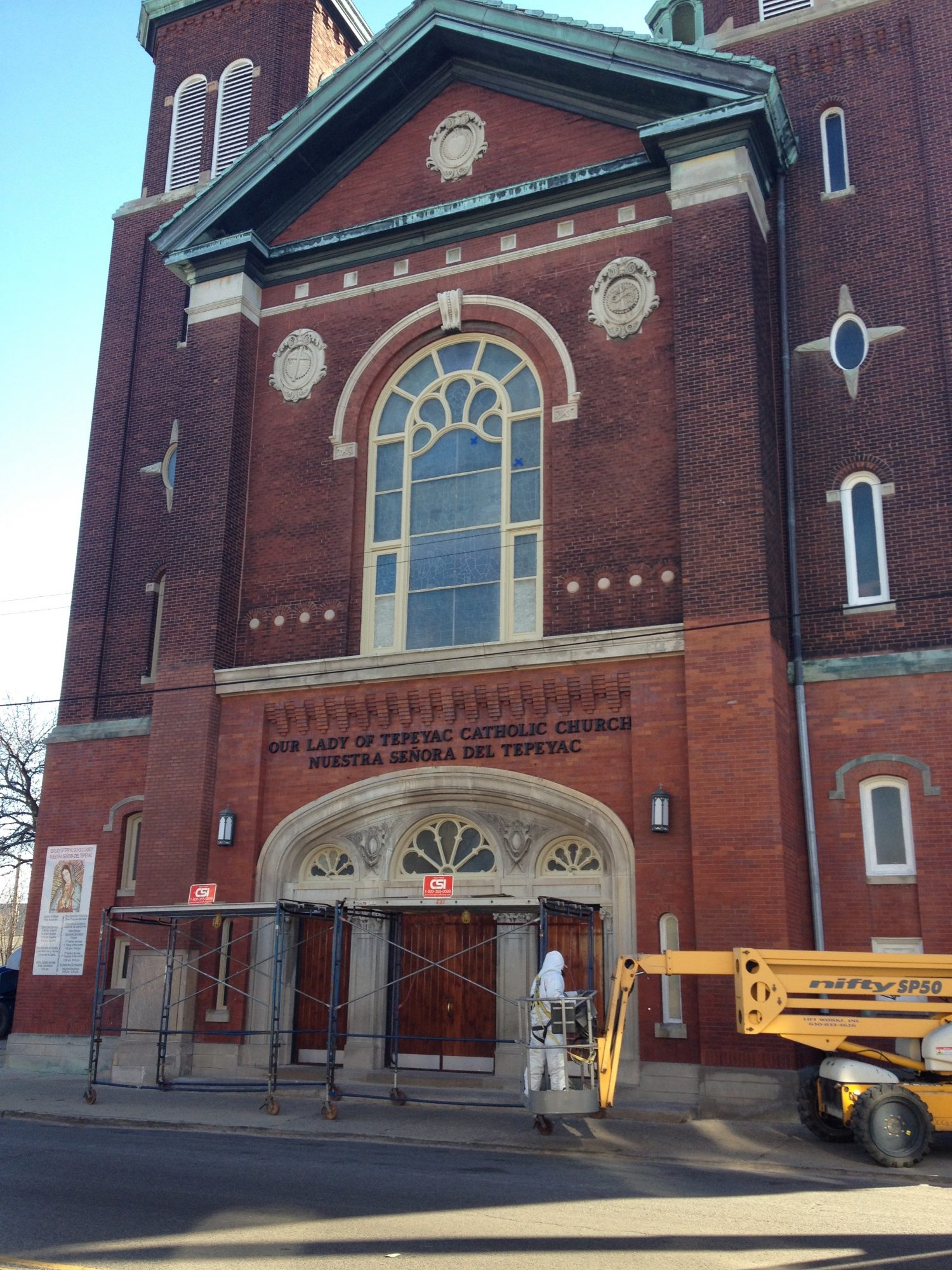 Exterior Painting Contractor Our Lady of Tepeyac, Chicago